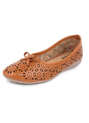 bishwabazaar-women-shoe-Yahe-Womens-Casual-Napa-Leather-Flat-Belly-Shoe